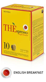 ESPRESSO VERGNANO ENGLISH BREAKFAST COMPATIBILI NESPRESSO - CAPSULE 10