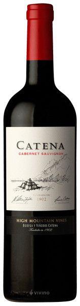 CATENA ZAPATA - CATENA CABERNET SAUVIGNON 2016 - CL. 75