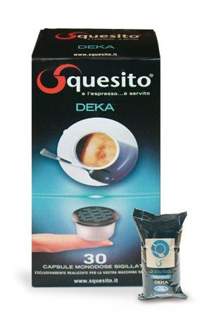 SQUESITO CAFFE' DEKA SOLO - CAPSULE 120