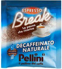 CIALDA CARTA CAFFE' PELLINI E.S.E. 44 DECAFFEINATO NATURALE - CIALDE 150