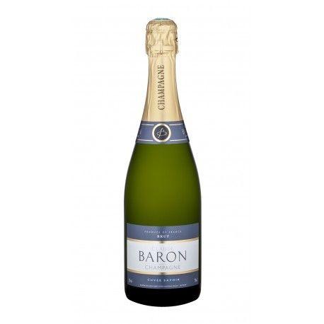 CLAUDE BARON - CHAMPAGNE CUVEE SAPHIR BRUT  - CL. 75