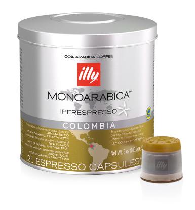 ILLY IPERESPRESSO COLOMBIA - CAPSULE 21