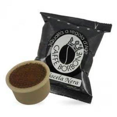 CAFFE' BORBONE - MISCELA NERA - COMPATIBILE LAVAZZA POINT
