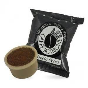 CAFFE' BORBONE MISCELA NERA COMPATIBILI LAVAZZA POINT - CAPSULE 100