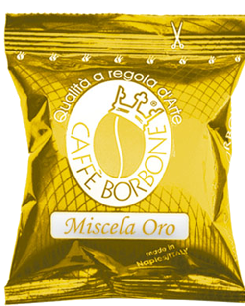 CAFFE' BORBONE - MISCELA ORO - COMPATIBILE LAVAZZA POINT