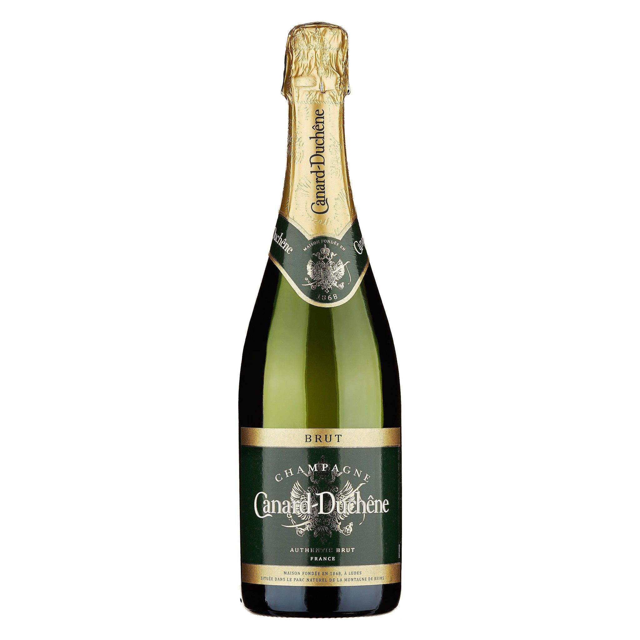 "CANARD DUCHENE - CHAMPAGNE BRUT ""AUTHENTIC"" LT 0,75 - BOTTIGLIE 6"