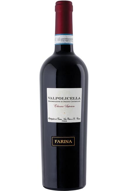 CANTINA FARINA  - VALPOLICELLA CLASSICO SUPERIORE DOC LT 0,75 - BOTTIGLIE 6