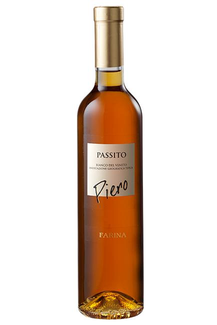 """CANTINA FARINA - """"PIERO"""" BIANCO PASSITO DEL VENETO IGT LT 0,50 - BOTTIGLIE 6"""