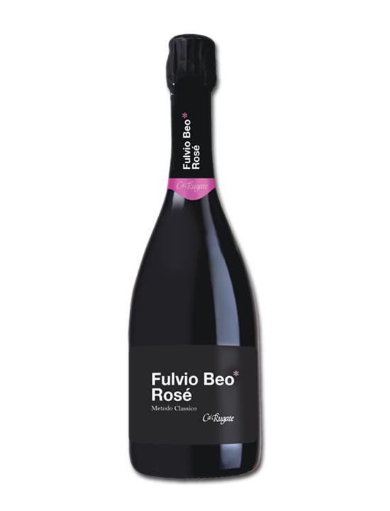 CA' RUGATE - FULVIO BEO ROSE' METODO CLASSICO LT 0,75 - BOTTIGLIE 6