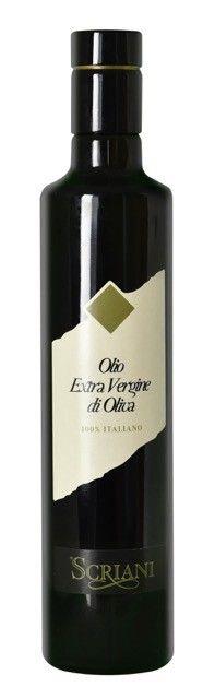 SCRIANI - OLIO EXTRAVERGINE D'OLIVA 2019 - CL. 50