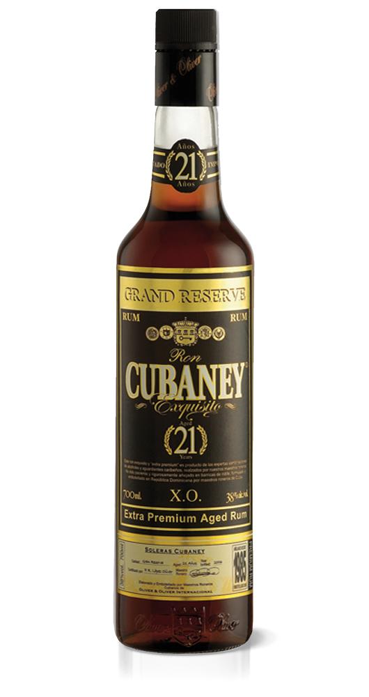 CUBANEY - RHUM 21 ANNI LT 0,70