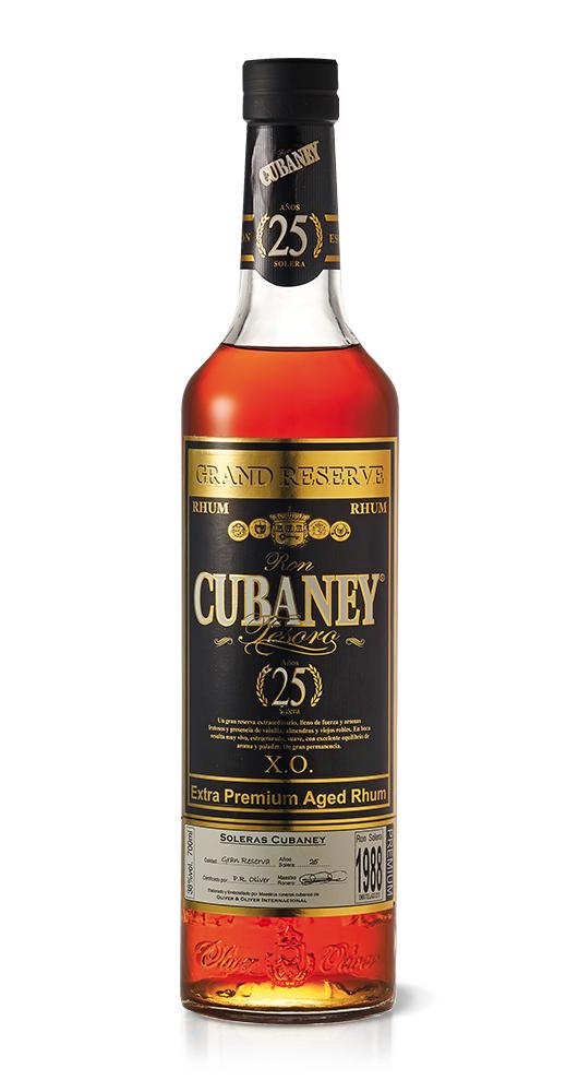 CUBANEY - RHUM 25 ANNI LT 0,70