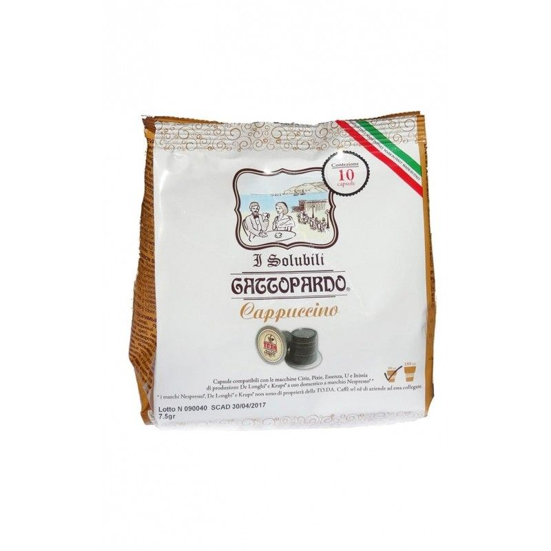 GATTOPARDO CAPPUCCINO COMPATIBILI NESPRESSO - CAPSULE 10