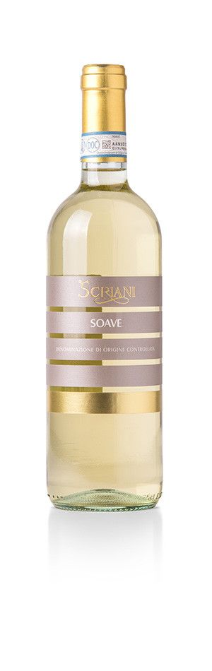 SCRIANI - SOAVE DOC 2018 LT 0,75