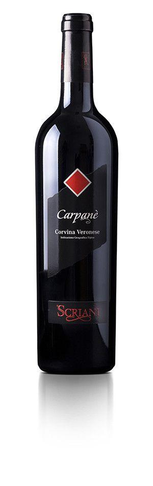 SCRIANI - CARPANE' IGT CORVINA VERONESE 2015 - CL. 75