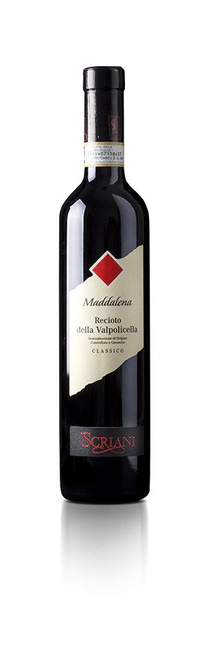 SCRIANI - RECIOTO MADDALENA DELLA VALPOLICELLA  2015 - CL. 50