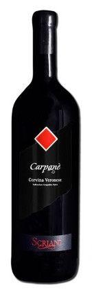 SCRIANI - CARPANE' IGT CORVINA VERONESE 2012 - MAGNUM LT 1,50