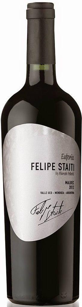 FELIPE STAITI WINES - FELIPE STAITI EUFORIA MALBEC 2014 - CL. 75