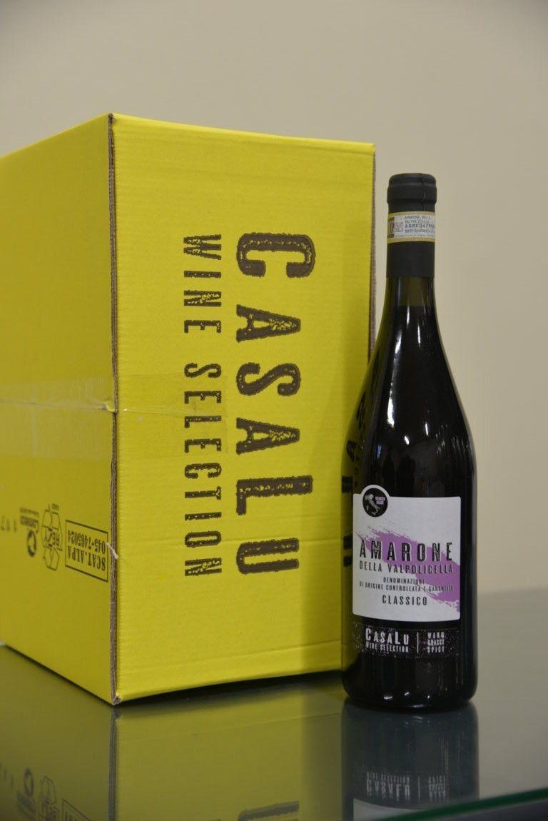 CASALU WINE - AMARONE DELLA VALPOLICELLA DOCG LT 0,75 - BOTTIGLIE 6