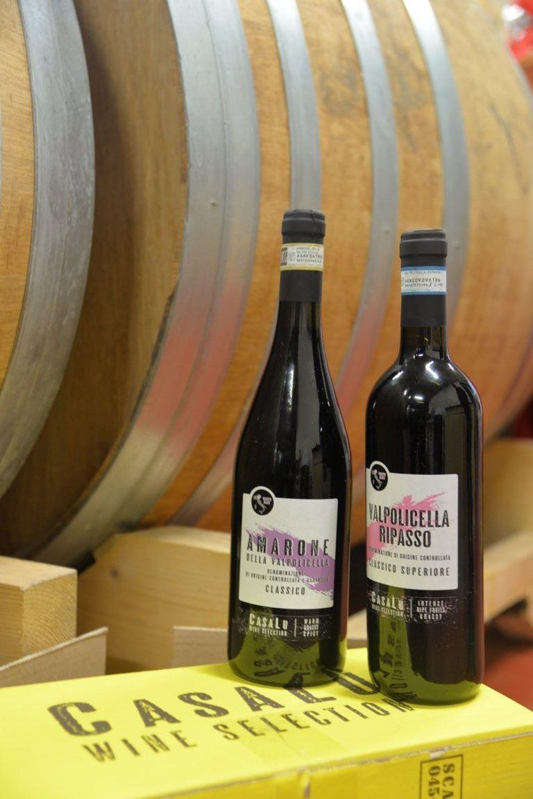 CASALU WINE - VALPOLICELLA RIPASSO CLASSICO SUPERIORE LT 0,75 + AMARONE DELLA VALPOLICELLA DOCG LT 0,75 - BOTTIGLIE 6