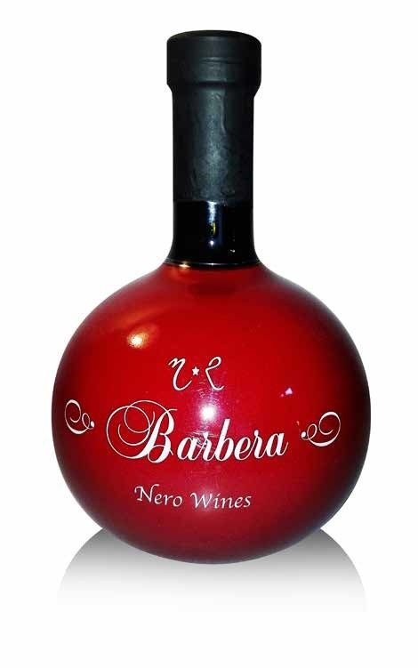 NERO WINES - BARBERA IGT LT 0.75 - BOTTIGLIE 12
