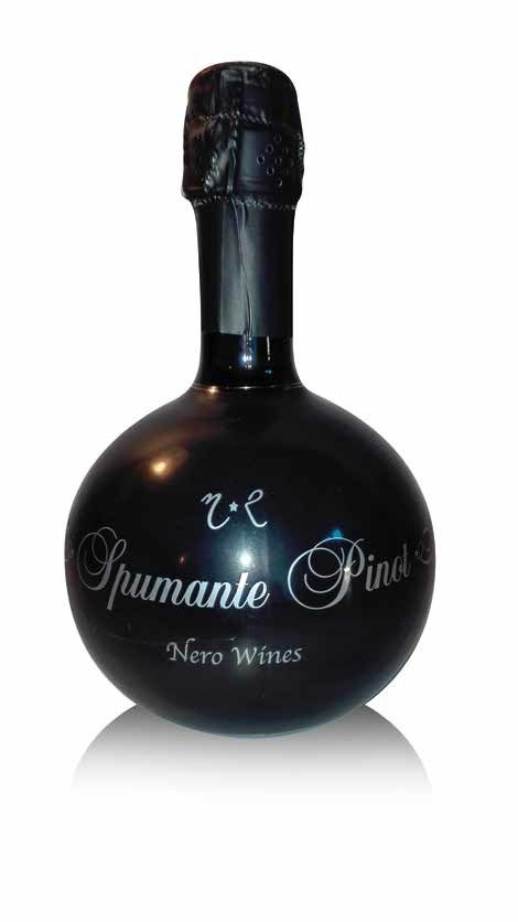 "NERO WINES - SPUMANTE PINOT ""CHARMAT"" LT 0.75 - BOTTIGLIE 6"