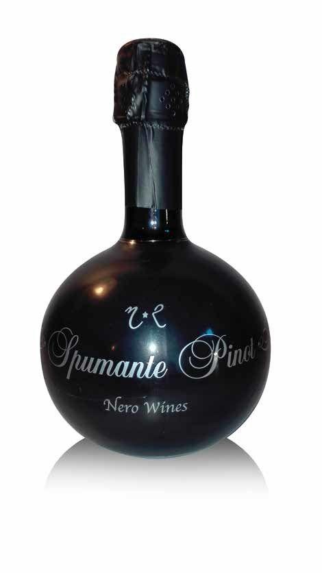 "NERO WINES - SPUMANTE PINOT ""CHARMAT"" LT 0.75 - BOTTIGLIE 12"