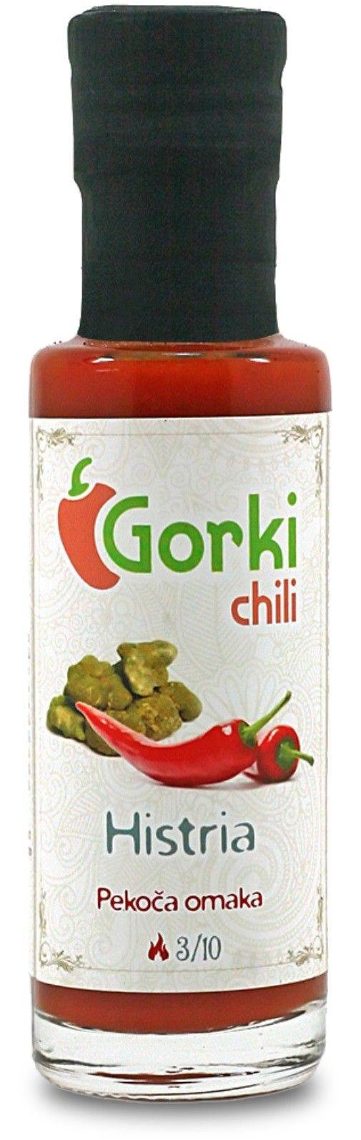 GORKI CHILI - SALSA PICCANTE HISTRIA GR. 100