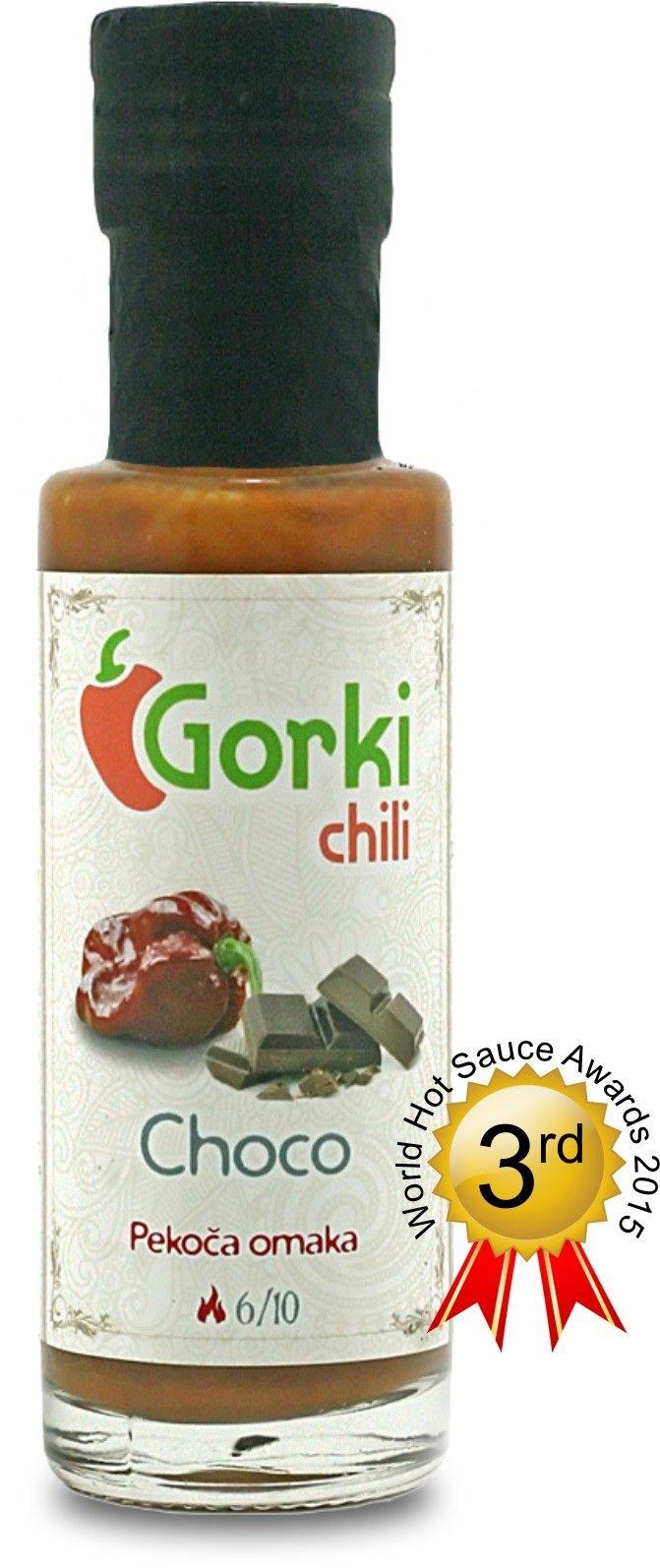 GORKI CHILI - SALSA PICCANTE CHOCO GR. 100