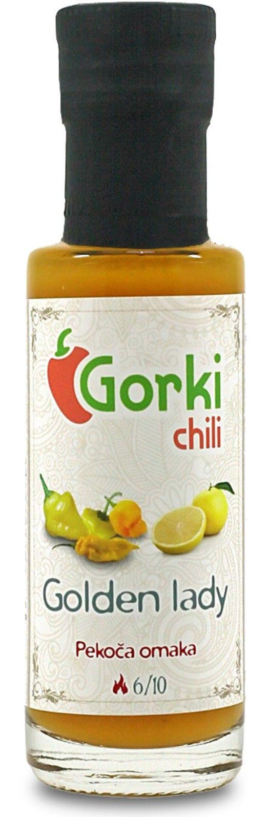 GORKI CHILI - SALSA PICCANTE GOLDEN LADY GR. 100