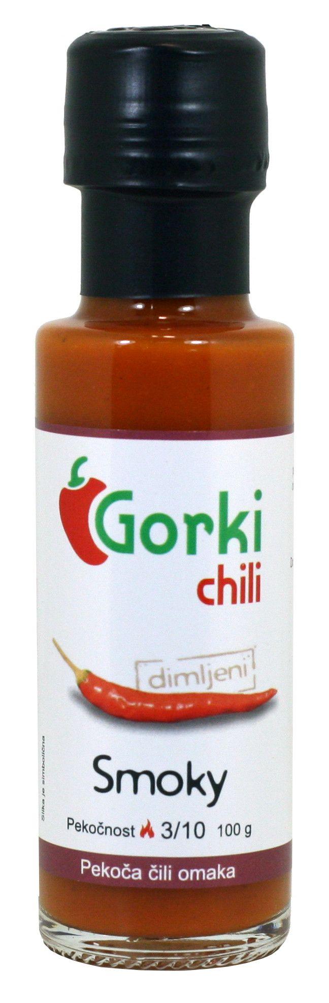 GORKI CHILI - SALSA PICCANTE SMOKY GR. 100