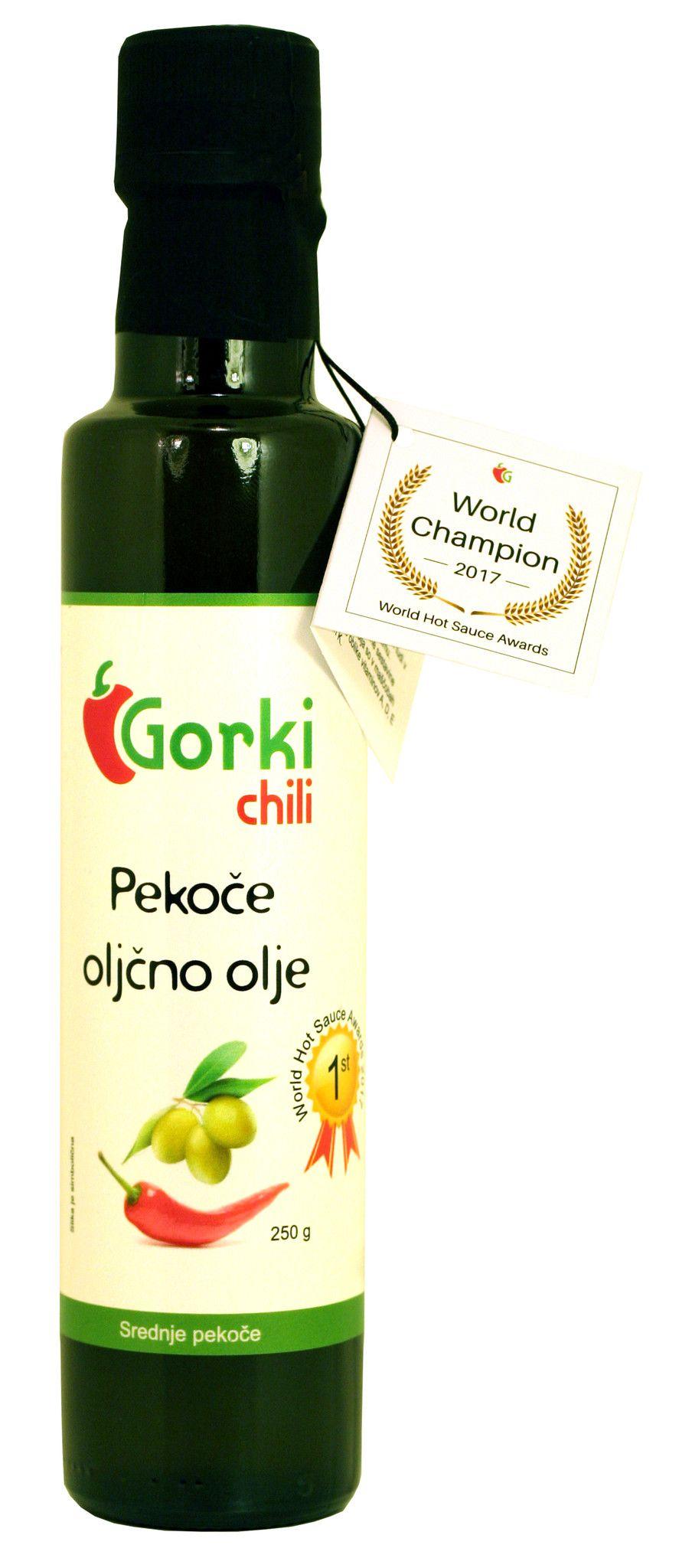 GORKI CHILI - OLIO EVO CON PEPERONCINI GR. 250