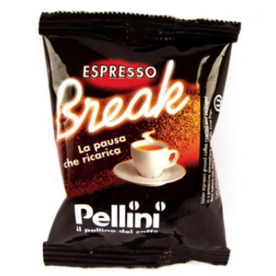 CAFFE' PELLINI ESPRESSO BREAK COMPATIBILI LAVAZZA POINT - CAPSULE 100