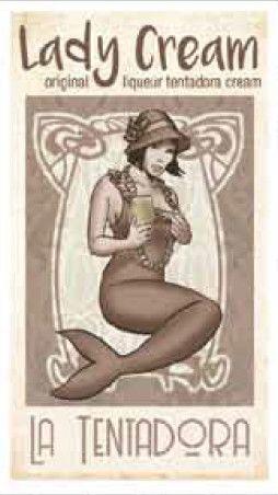 LA TENTADORA - LADY CREAM - LIQUORE AL WISKY- CL. 50