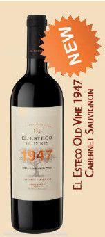 BODEGA EL ESTECO - EL ESTECO OLD VINE 1947 CABERNET SAUVIGNON CL. 75