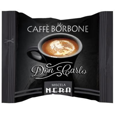 CAFFE' BORBONE - DON CARLO MISCELA NERA - COMPATIBILE LAVAZZA A MODO MIO