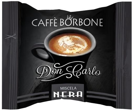 CAFFE' BORBONE MISCELA NERA COMPATIBILI LAVAZZA A MODO MIO - CAPSULE 100