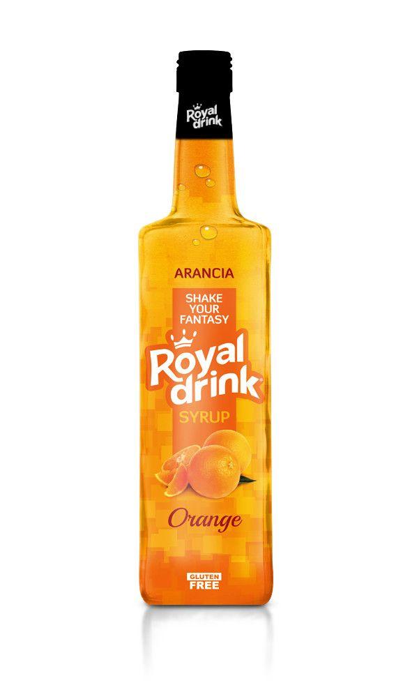 ROYAL DRINK - SCIROPPI CLASSICI PER COCKTAILS & GRANITE - KG. 1