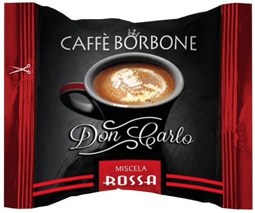 CAFFE' BORBONE - DON CARLO MISCELA ROSSA - COMPATIBILE LAVAZZA A MODO MIO