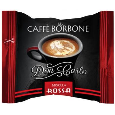 CAFFE' BORBONE MISCELA ROSSA COMPATIBILI LAVAZZA A MODO MIO