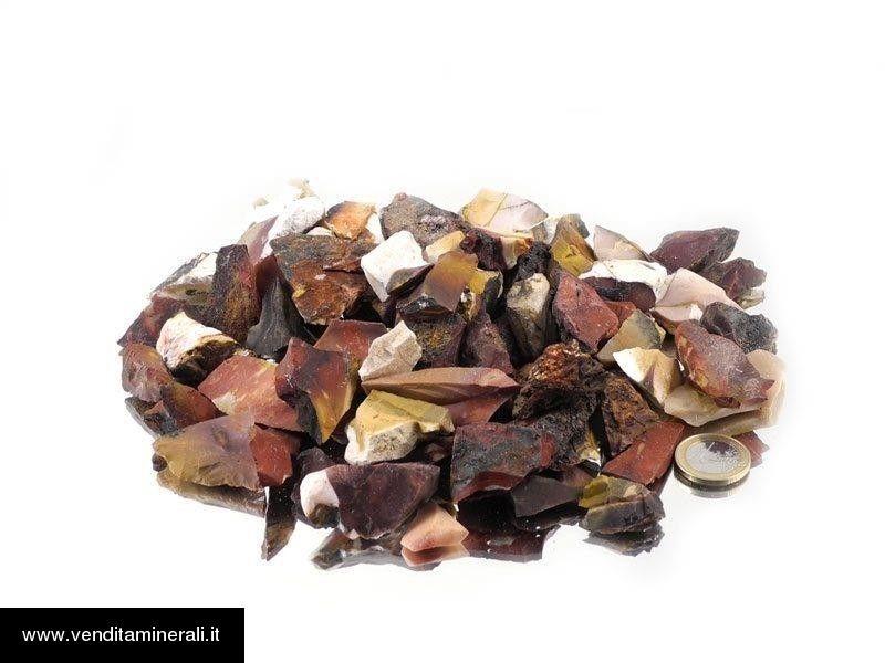 Mookait - piccole pietre grezze (2-5 cm) - 1 kg