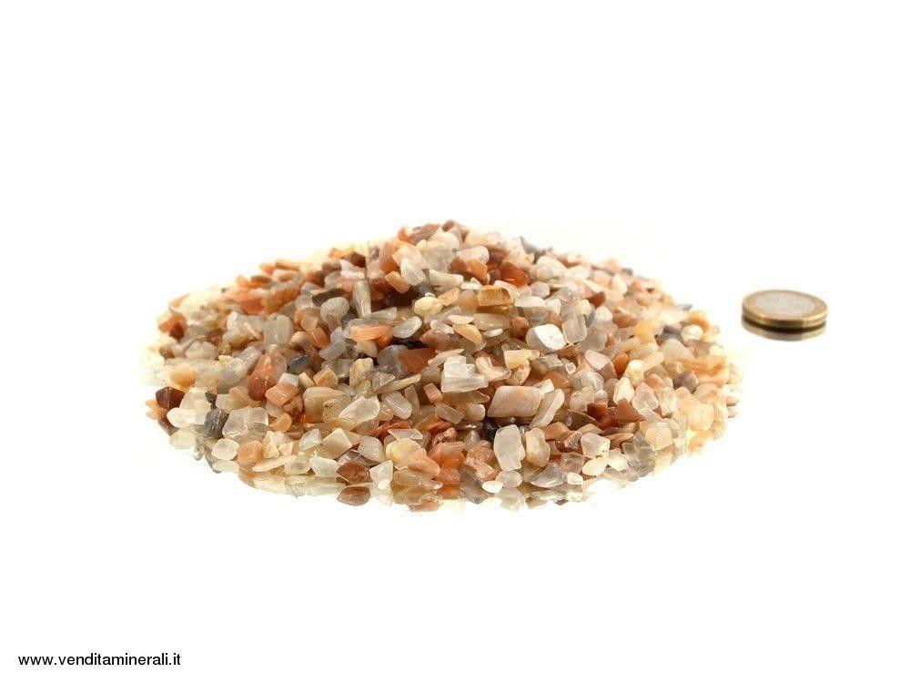 Ciottoli con pietre di luna mini - 0,5 kg