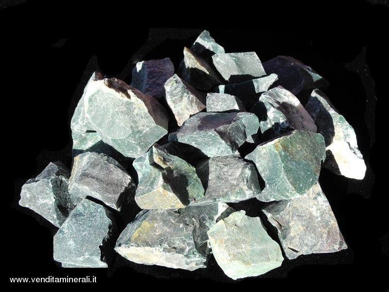 Eliotropio - piccole pietre grezze (2-5 cm) - 1 kg