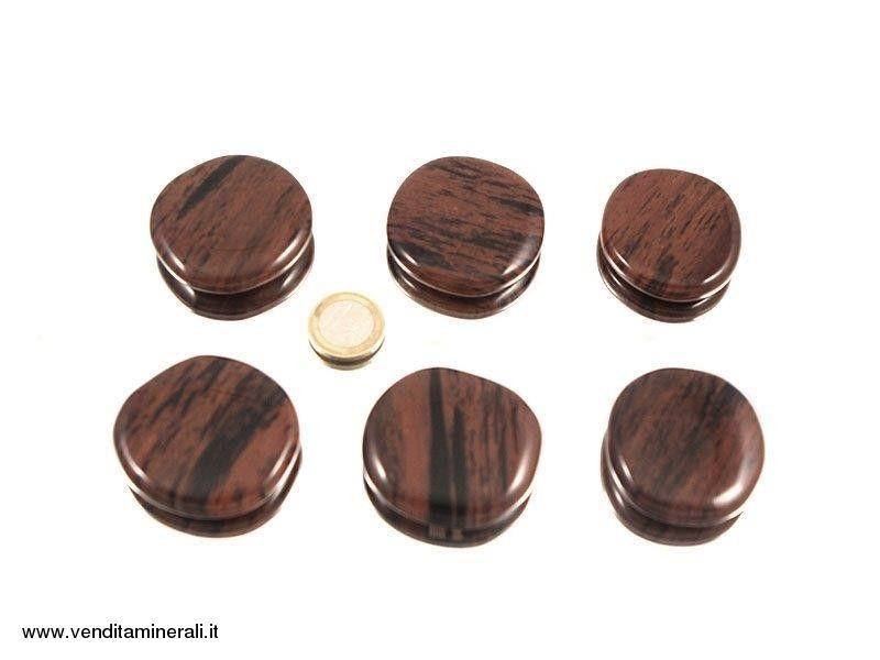Pietra tascabile di ossidiana di mogano - 0,5 kg