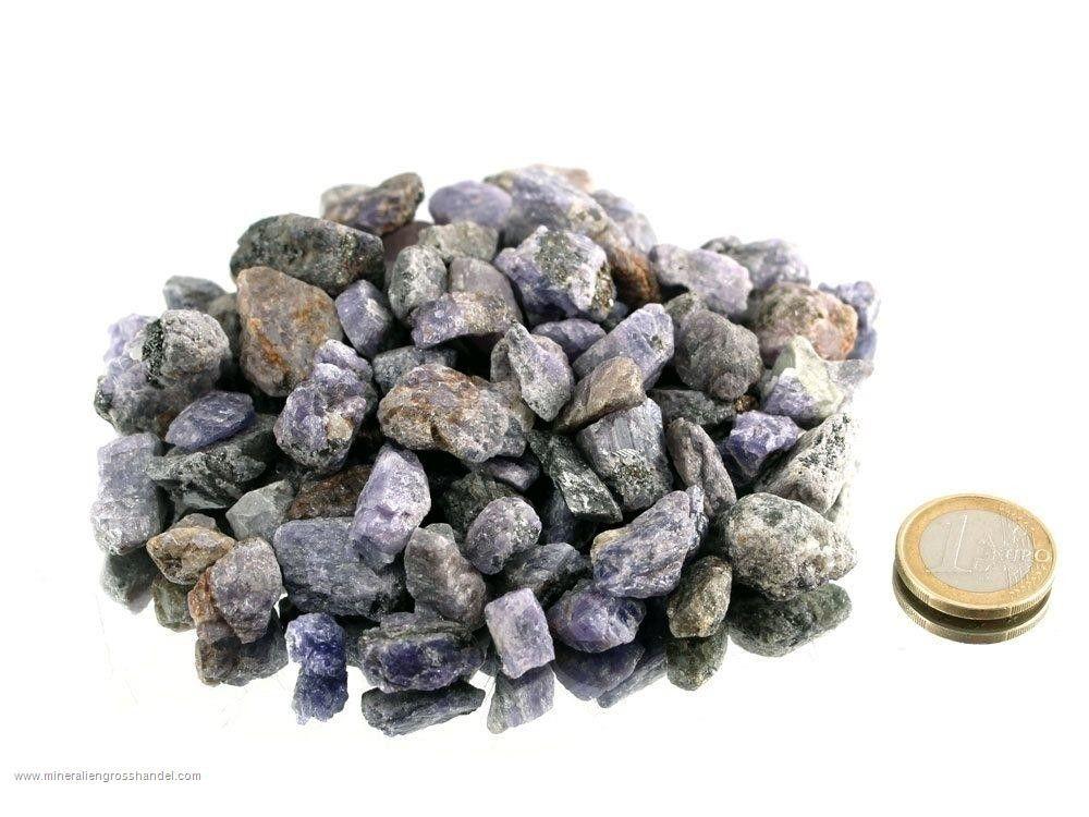 Pietre ruvide di tanzanite - 0,25 kg
