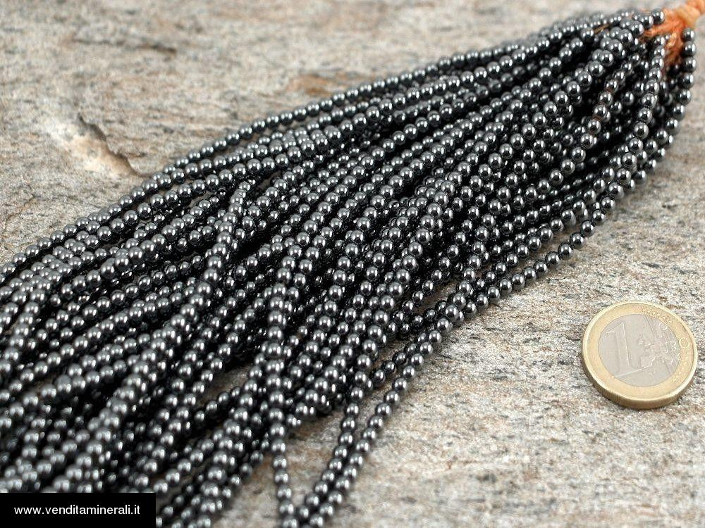 Catena di ematite 3 mm