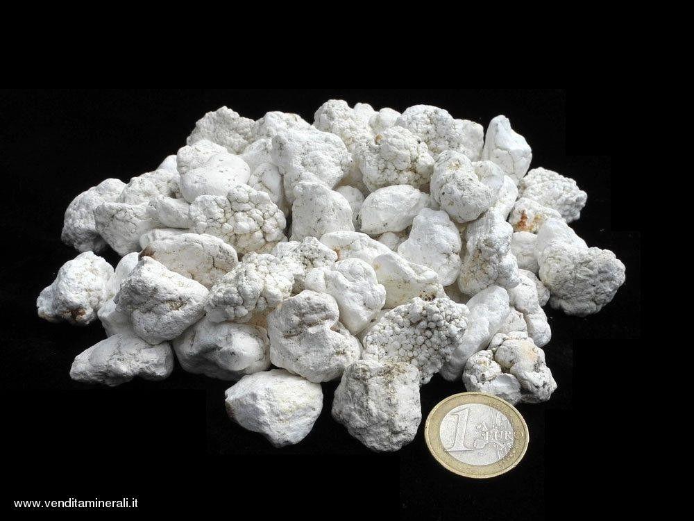 Tuberi di magnesite naturale - 0,5 kg