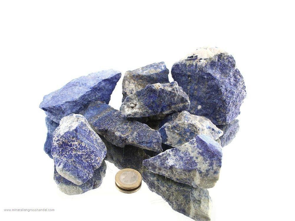 Pietre grezze di lapislazzuli - 1 kg