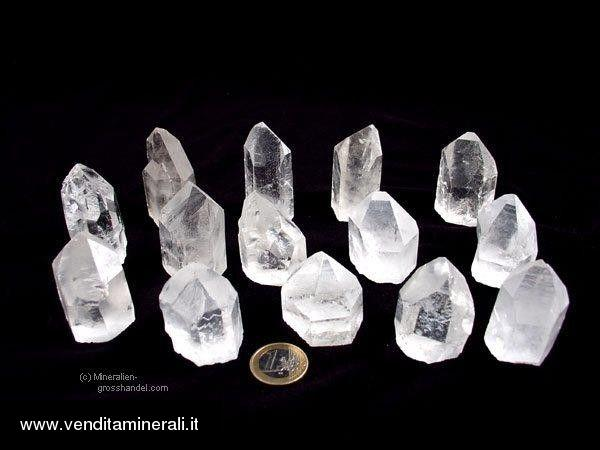 Cristalli di rocca con base - 1 kg