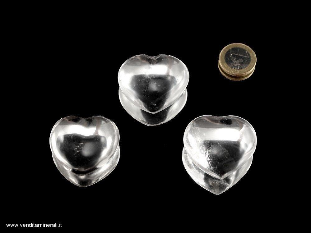 Cuore di cristallo di rocca